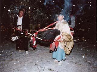 新野の雪祭り_南信州観光公社