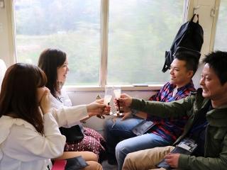 JR飯田駅発 シードル特別列車 Twin Alps Cider Train(10/13) イメージ01