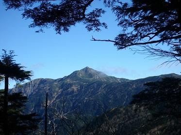 聖岳 山小屋 テント