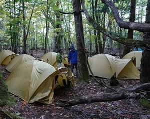 「面平レンタルテント・キャンプ場」登山ツアー企画会社・登山ガイド限定企画 イメージ01